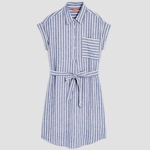 Joe Fresh striped linen shirtdress